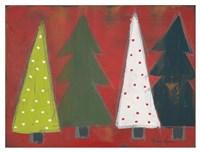 Christmas Tree Delight I Fine Art Print
