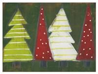 Christmas Tree Delight II Fine Art Print