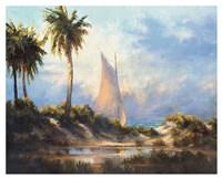 Manasota Key Returning Fine Art Print