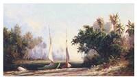 Peace River Sunset Fine Art Print