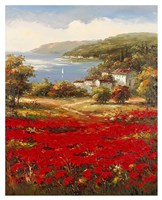 Poppy Harbor Fine Art Print