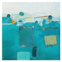 Blue Landscape Fine Art Print