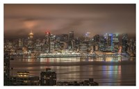 Vancouver Night Fine Art Print