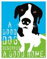 A Good Dog Fine Art Print