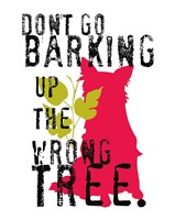Don't Go Barking Fine Art Print