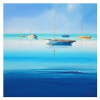 Blue Couta Fine Art Print