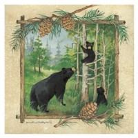 Bears Family Fine Art Print