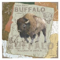 Buffalo Roam Fine Art Print