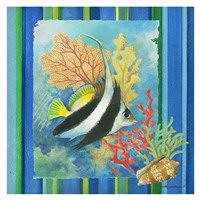 Tropical Fish I Fine Art Print