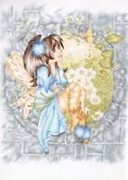Flower Fairie Fine Art Print