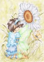 Hello Fairie Fine Art Print