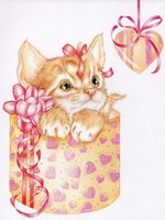 Kitten Heart Fine Art Print