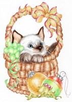Siamese Christmas Fine Art Print