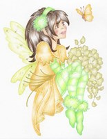 St. Patricks Fairie Fine Art Print