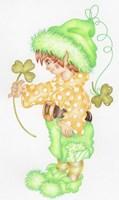 St Patricks Pixie Fine Art Print