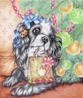 Gift bag Fine Art Print