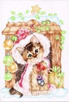Santa's at the Door Fine Art Print