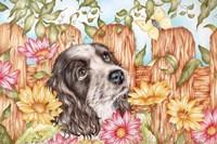 Butterfly Pup Fine Art Print