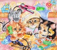 Curlers Fine Art Print