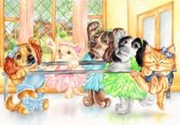 Pirouette Pets Fine Art Print