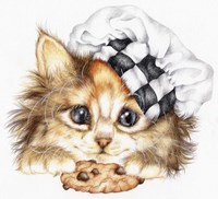 Cookie Kitten Fine Art Print