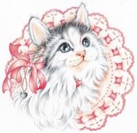 Lacey Kitten Fine Art Print