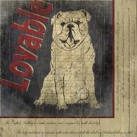 Bull Dog II Fine Art Print