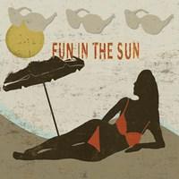 Fun in the Sun Fine Art Print