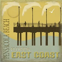 Pensacola Beach Fine Art Print