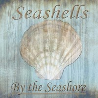 Seashells by the Seashore II Fine Art Print