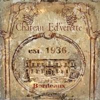 Chateau Ed'verette Fine Art Print