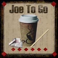 Joe To Go Fine Art Print