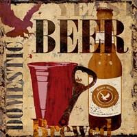 Domestic Beer Fine Art Print