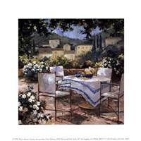 Tuscany Terrace Fine Art Print