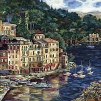 Daybreak of Portofino Fine Art Print