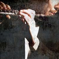 Snipets Of Music 4 Fine Art Print