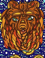 Bailey the Bear Alive Fine Art Print