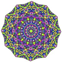 Beautifully Brilliant Mandala Fine Art Print