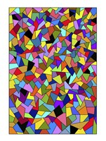Shards Colored Fine Art Print