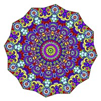 The Sigh Mandala Fine Art Print