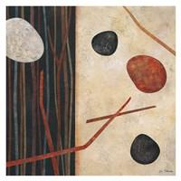 Sticks and Stones I Fine Art Print