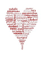Translation of Love Fine Art Print