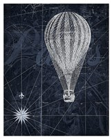 Hot Air over Paris II Fine Art Print