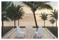 Palm Beach Retreat Fine Art Print