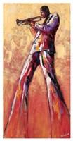 Trumpet Solo Fine Art Print