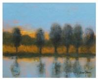 Line of Reflections Fine Art Print