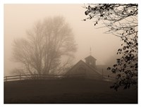Parish Hill Barn Fine Art Print