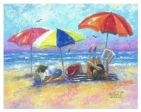 At the Beach I Fine Art Print