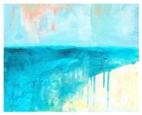 Coastal Blues 2 Fine Art Print