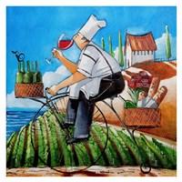 Chef's Delivery Fine Art Print